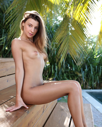 Naked Beauty In The Tropics